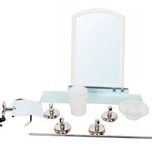 ENSEMBLE Salle de bain 7 PIECES + MIROIR