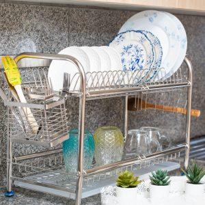 Égouttoir vaisselle inox